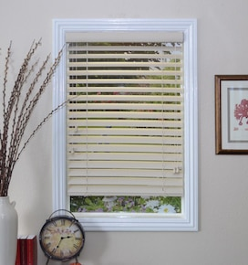 Blindsgalore Horizontal Blinds: 2 Vinyl Solids