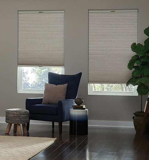 Blindsgalore® Select Cellular Shades: Shown in Parchment