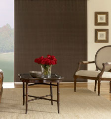 Blindsgalore Gallery Vertical Cellular Shades: Blackout - CLOSEOUT