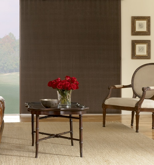 Blindsgalore Gallery Vertical Cellular Shades: Blackout
