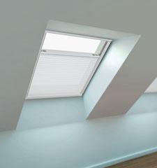 Blindsgalore Motorized Skylight Shade - Light Filtering