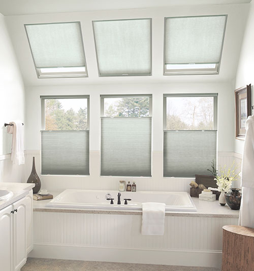 Blindsgalore® Gallery Skylight Cellular Shades: Light Filtering