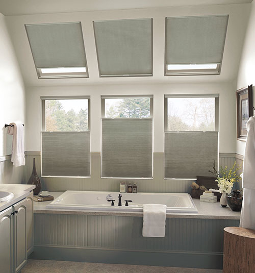 Blindsgalore Gallery Skylight Cellular Shades: Blackout