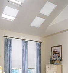 Blindsgalore No-Holes Pleated Skylight Shade: Light Filtering