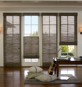 French Door Blinds French Door Window Treatments Blindsgalore
