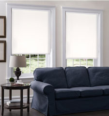 Blindsgalore Roller Shades: Eventide Light Filtering