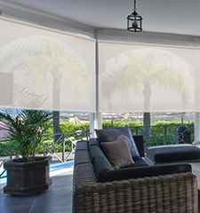 Blindsgalore Outdoor Solar Screen