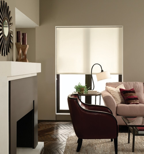 Blindsgalore Roller Shades: Newport Light Filtering