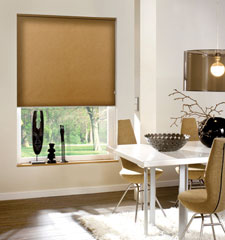 Blindsgalore Roller Shade: Newport Blackout - CLOSEOUT