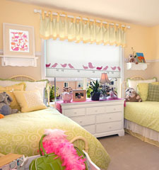 BG Kids Roller Shades: Little Birds