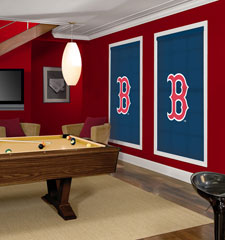 Blindsgalore MLB Custom Roller Shades: Boston Red Sox