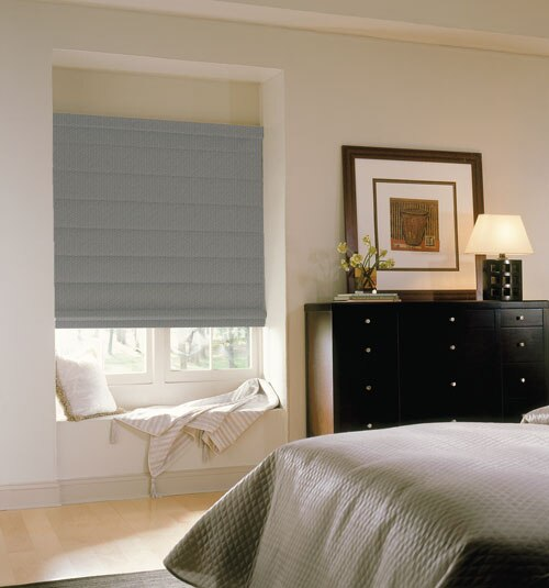 Comfortex Envision Roman Shades: Blackout