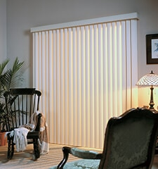 Blindsgalore Vinyl Vertical Blinds - CLOSEOUT