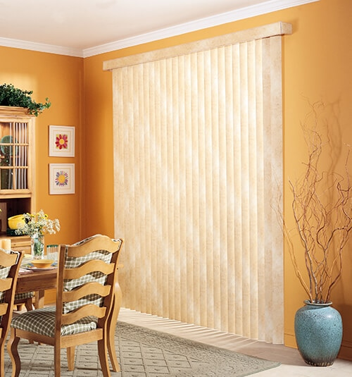 Blindsgalore® Fabric Vertical Blinds - CLOSEOUT