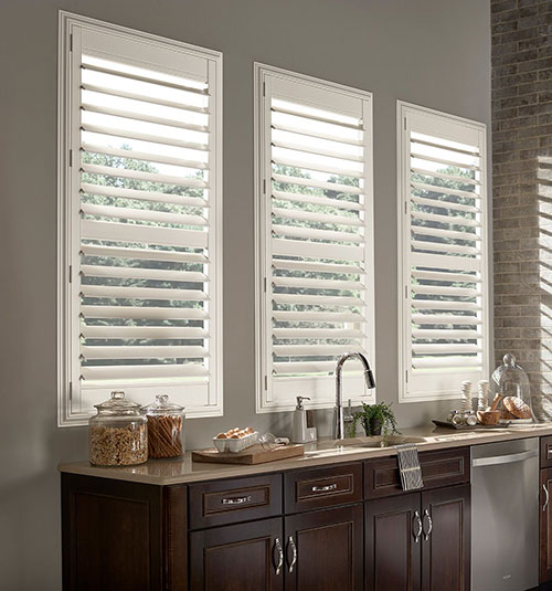 Blindsgalore Polyresin Plantation Shutters 3 1 2 Louvers