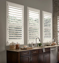 Blindsgalore Vinyl Plantation Shutters: 3 1/2 Louvers