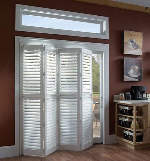 Blindsgalore® PolyResin Bi-Fold Plantation Shutters