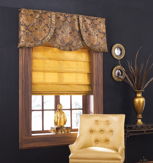 Blindsgalore Board Mounted Valance: Elegance