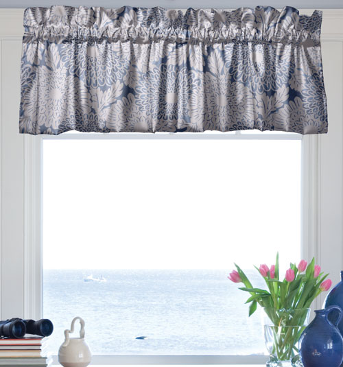Blindsgalore Pole Mounted Valances: Blouson