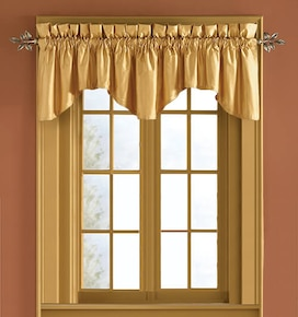 Blindsgalore Pole Mounted Valances: Scalloped