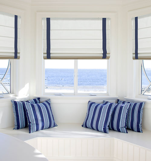 Blindsgalore Designer Roman Shades: Solids