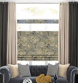 Blindsgalore Designer Roman Shades: Patterns