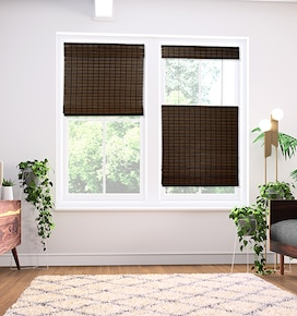 Blindsgalore Cordless Top Down Bottom Up Woven Shades