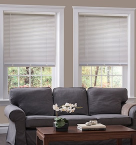 Blindsgalore Cordless Mini Blinds: 1 Aluminum