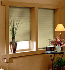 Blindsgalore Gallery Cellular Shades: Double Cell Light Filtering - CLOSEOUT