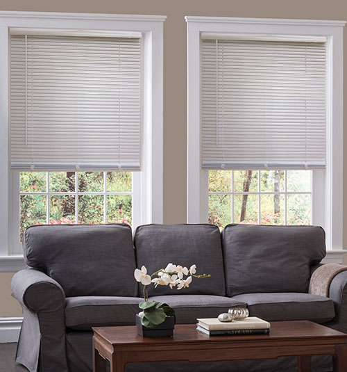 Blindsgalore® Cordless Mini Blinds: Aluminum