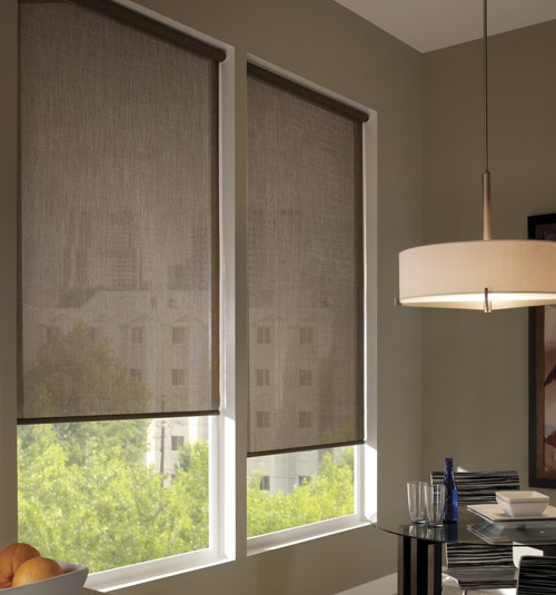 Fusion Solar Shades shown in Tweed