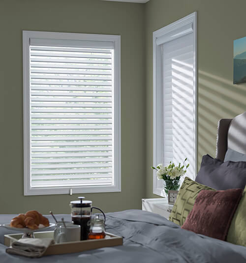 Blindsgalore Essential Sheer Shadings: 2 1/2 Light Dimming