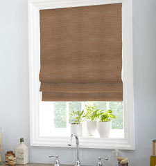 Classic Roman Shade shown in Bungalow: Henna