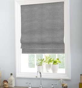 Boutique Roman Shades: Solids
