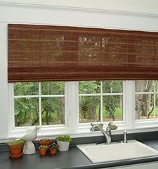 Boutique Natural Waterfall Woven Shades: Select Weaves