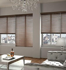 Boutique Wood Blinds: Stains