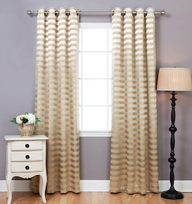 Blindsgalore Allure Drapery Pair: Flush Stripe