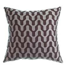 Blindsgalore Signature Throw Pillow: Mod Chevron