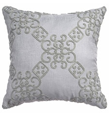 Blindsgalore Signature Throw Pillow: Leann