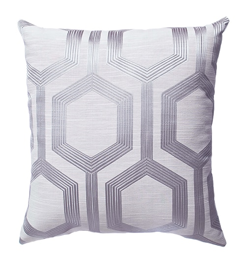 Blindsgalore Signature Pillow: Tanga shown in Platinum