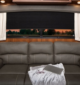 Blindsgalore Pleated RV Shades: Room Darkening