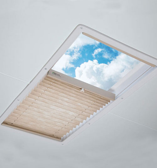 Blindsgalore® Pleated RV Skylight Shades
