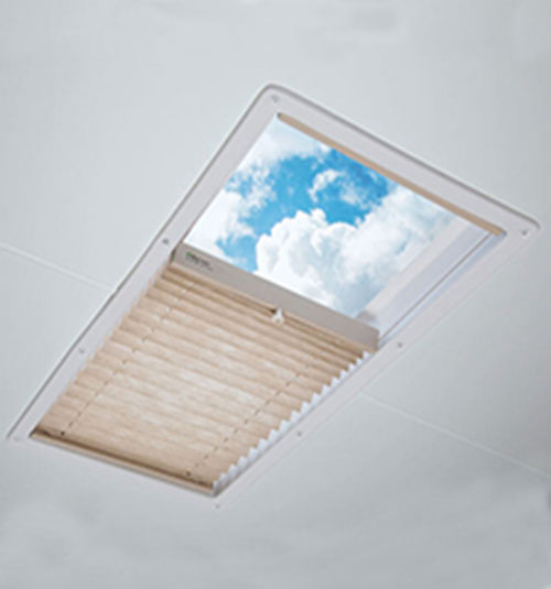 Blindsgalore Pleated RV Skylight Shades