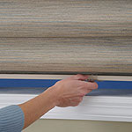 Cordless with Fabric Valance