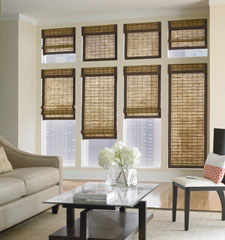 Bali® Natural Shades: Mill Cove shown in Madras