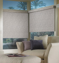 Bali® Roller Shades: Overture in color Zinc