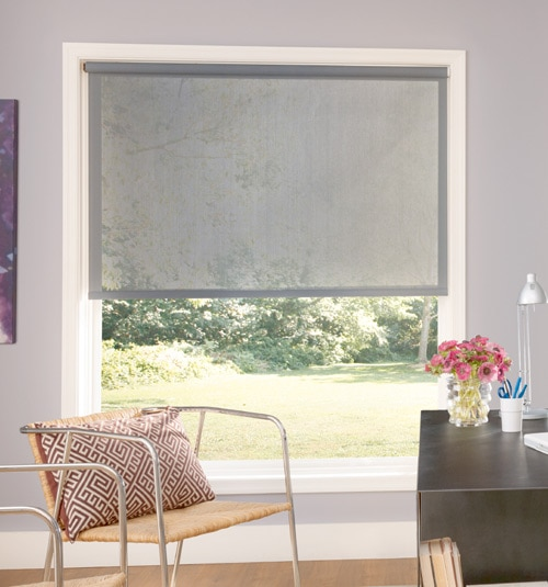 Bali® Roller Shades: Runway shown in color Concord