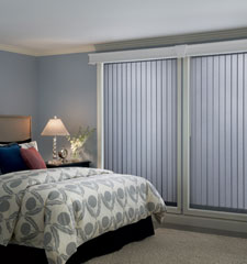 Bali® Vinyl Vertical Blind: Estate