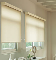 Levolor® Roller Shade: Textures shown in Ivory