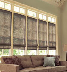 Levolor Natural Shades shown in Citiscape Espresso